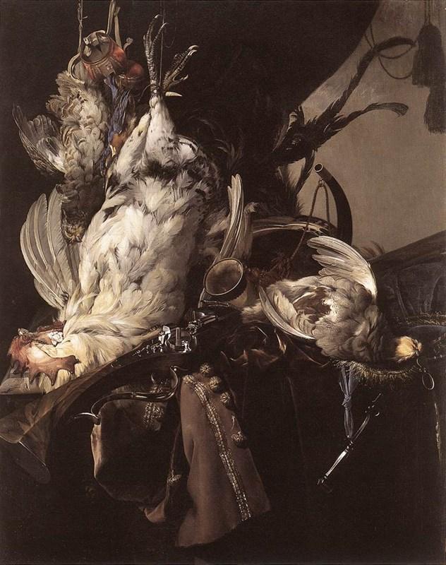 StillLife of Dead Birds and Hunting