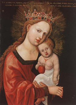 Mary With The Childhild-large