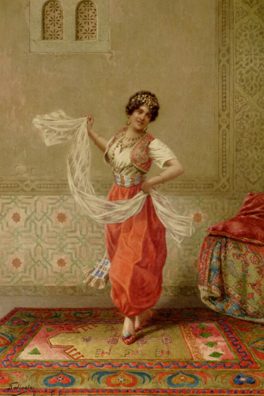 Ballesio_Francesco_The_Oriental_Dancer_P