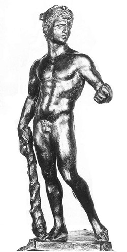 Hercules with the Apple of the Hespe