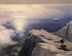 A Rocky Coastal Landscape in the Aeg