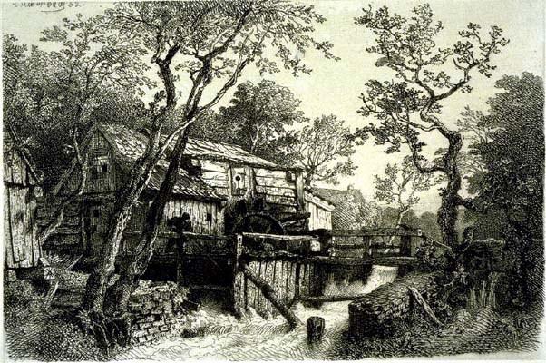 Mill Beside a Stream
