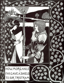 How Morgan Le Fay Gave a Shield to S