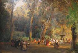In the Park of Villa Torlonia