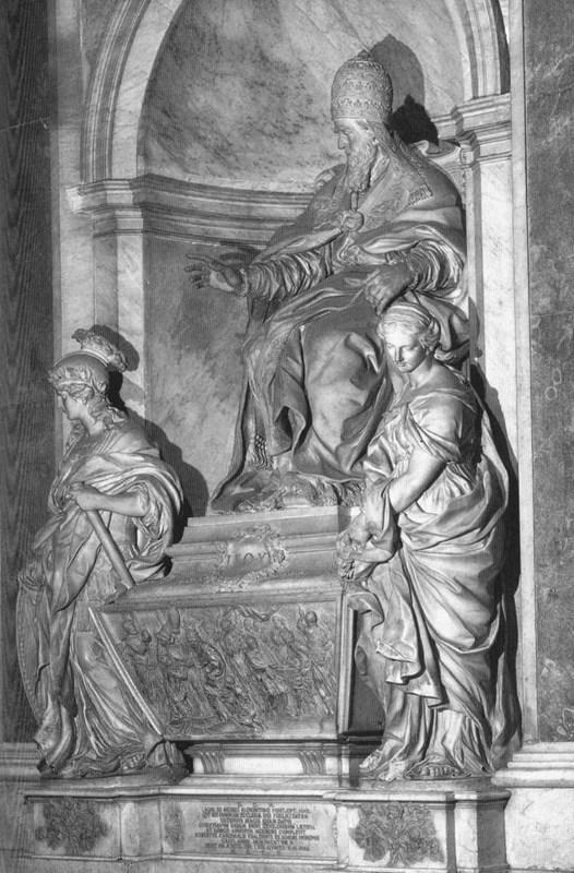 Monument of Pope Leo XI