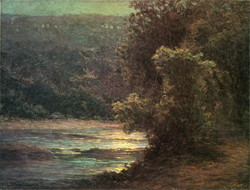 Moonlight on the Whitewater circa 19