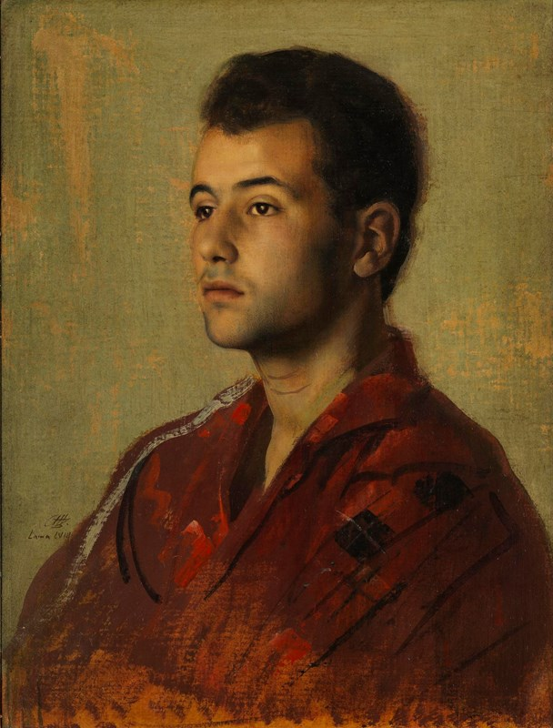 Portrait of Benedetto Annigoni 1958