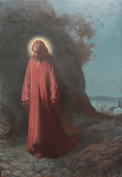 Jesus Christ on the Mount of Olives