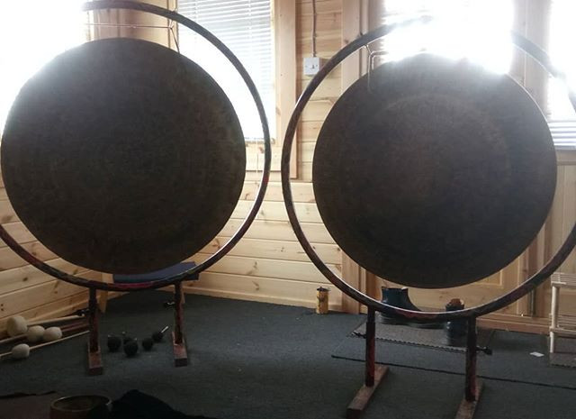 Two of the Nepalese Singing Bowl Gongs