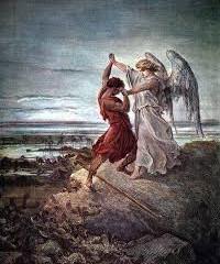 Wrestling with God.