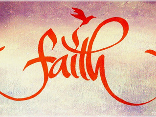 Faith first, the rest will follow.