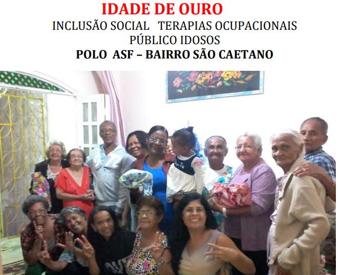 DOE PARA O GRUPO IDADE DE OURO