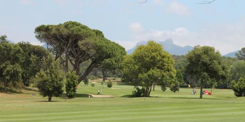 Le golf sur la voie verte