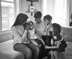 Family 1 Black and White 2