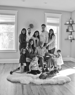 Family Black and White Group 7