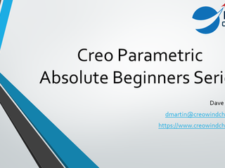 Creo Parametric for Absolute Beginners Video Playlist
