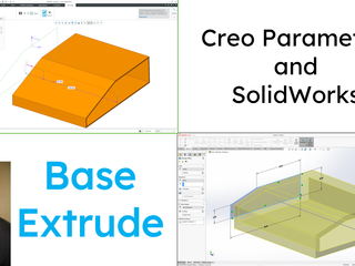 SolidWorks - Creo Parametric Comparison Series (Part 1)