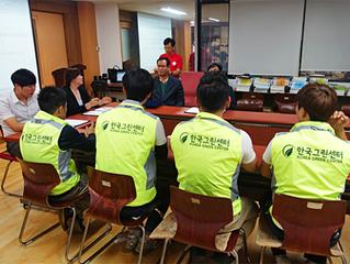 수원우만지역자활센터-(주)케이그린 업무 협약 체결