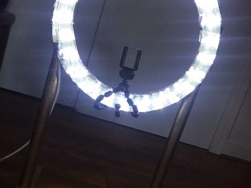 How I made a Ring Light for $18