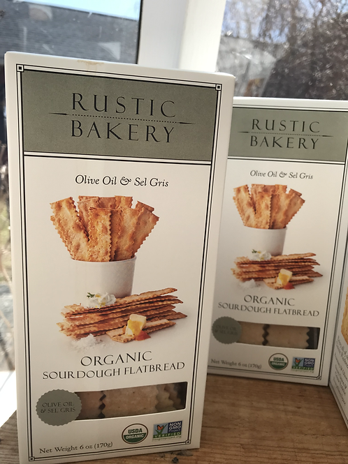 Rustic Bakery (Olive Oil & Sea Salt)