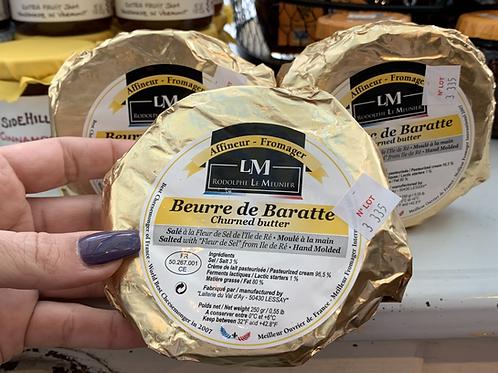 Beurre de Baratte w/Fleur de Sel
