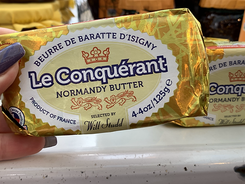 Le Conquerant Normandy Butter