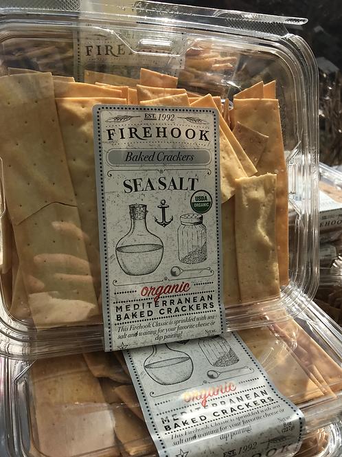 Firehook Crackers w/Sea Salt