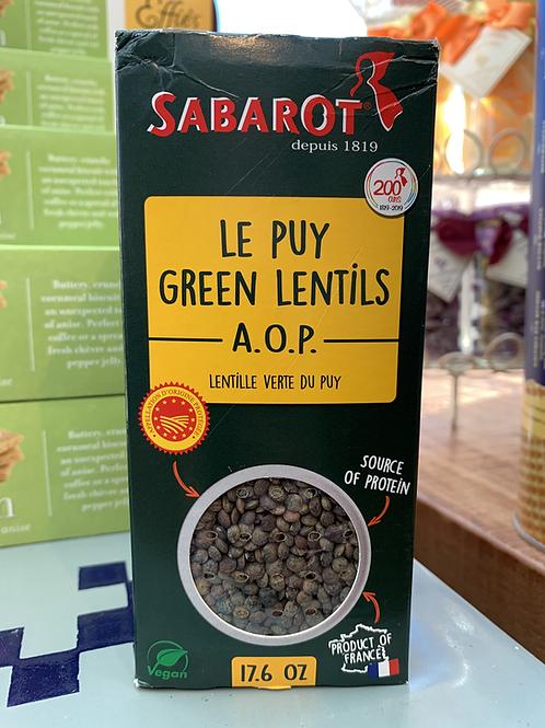Le Puy Green Lentils A.O.P.