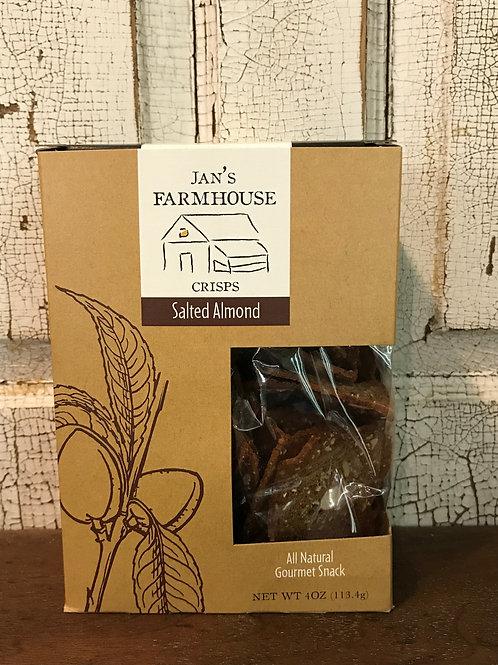 Jan's Farmhouse Salted Almond