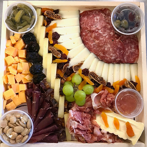 """Party Platter """"The Epicurean"""" w/French Wine"""