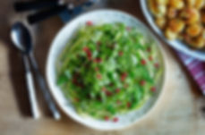 pea shoot pomegranate salad.jpg