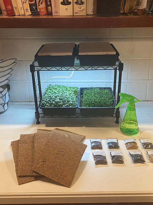 Deluxe Microgreen Home Grow System