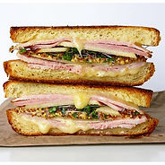 grilled-cheese-with-ham-brie-and-microgr