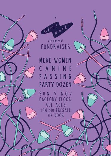 Girls Rock Fundraiser