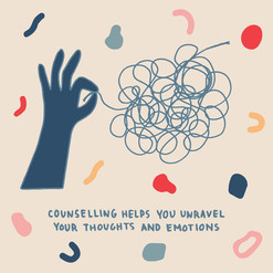 Counselling helps you unravel