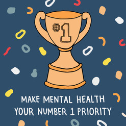 Make mental health your #1 priority