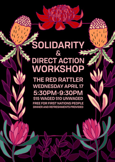 Solidarity and Direct Action Workshop