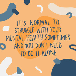 Struggling with mental health?