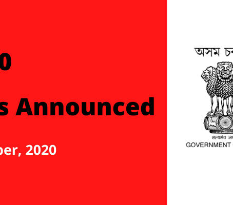 APSC CCE 2020: 331 Vacancies Announced | Apply Before 10th Oct, 2020
