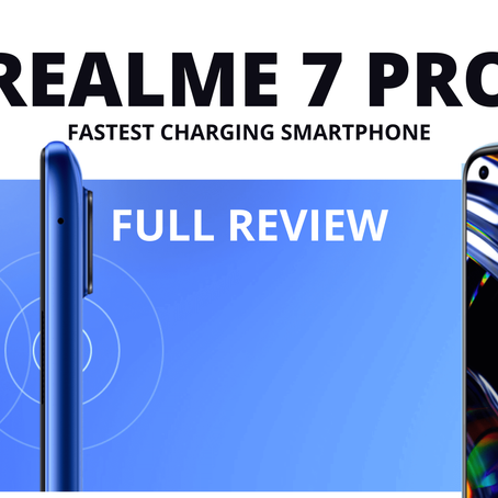 Realme 7 Pro: Full Review, Specifications, Price in India
