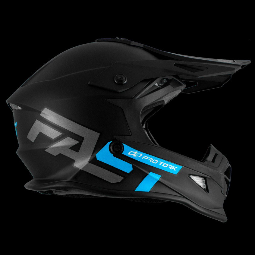 Novo capacete da linha off road: Fast