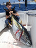 14 year old catches 3 nice size Yellowfin