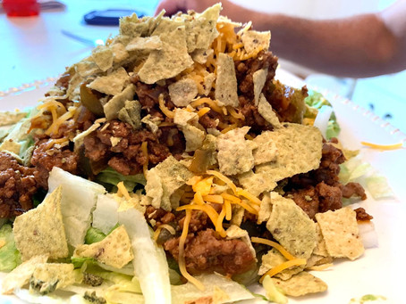 Waste Not Want Not Taco Salad