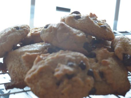 Grain, Refined Sugar free Dark Choco Cookies