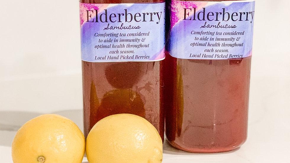 Bottled Elderberry Tea 32oz