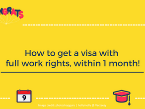 [Expert Tip] How Graduates Can Get Full Work Rights Within 1 Month