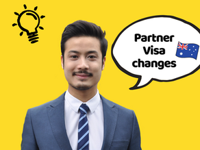 4-Minute Summary: Upcoming Partner Visa Changes