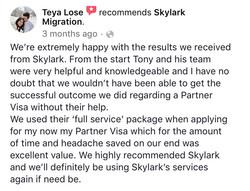 Teya | Skylark Migration | Facebook Review