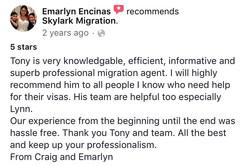 Emarlyn | Skylark Migration | Facebook Review
