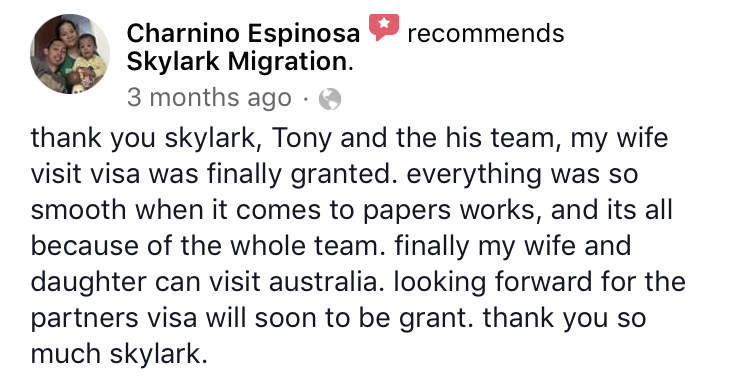 Charnino | Skylark Migration | Facebook Review